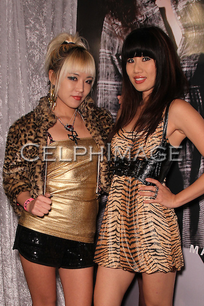 KITT.E.KATT, KAILA YU. Malibu, California-based fashion brand Sjobeck previews its Fall 2010 collection at Fred Segal Trend. Santa Monica, CA, USA. March 19, 2010..