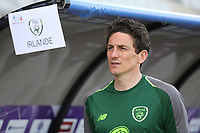 Republic of Ireland Assistant Coach, Keith Andrews during Republic Of Ireland Under-21 vs Mexico Under-21, Tournoi Maurice Revello Football at Stade Parsemain on 6th June 2019