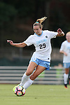 16 September 2016: North Carolina's Dorian Bailey. The University of North Carolina Tar Heels hosted the North Carolina State University Wolfpack in a 2016 NCAA Division I Women's Soccer match. NC State won the game 1-0.