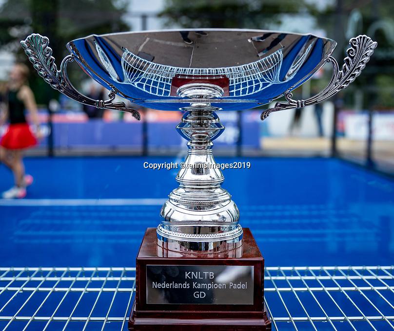 Rosmalen, Netherlands, 15 June, 2019, Tennis, Libema Open, NK Final Padel Mixed: Trophy<br /> Photo: Henk Koster/tennisimages.com