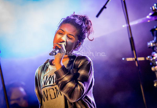 LAS VEGAS, NV - May 15, 2016: ***HOUSE COVERAGE*** Alessia Cara performing at CBS Radio Presents: SPF at The Boulevard Pool at The Cosmopolitan of Las Vegas in Las vegas, NV on May 15, 2016. Credit: Erik Kabik Photography/ MediaPunch