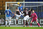 St Johnstone v Hearts&hellip;05.12.18&hellip;   McDiarmid Park    SPFL<br />Oliver Bozanic scores Hearts second goal<br />Picture by Graeme Hart. <br />Copyright Perthshire Picture Agency<br />Tel: 01738 623350  Mobile: 07990 594431