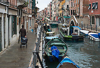 Venice the day after the weekend celebrating the sixtieth birthday of Douglas Lyndon-Skeggs, commencing early in the morning. Monday 1st October 2012.