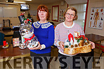 Roseanne O'Connell and Sheila O'Driscoll displaying their crafts at their Name It Womens Club centre on Tuesday.