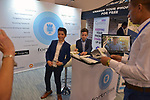 MIAMI BEACH, FL - APRIL 24: Young entrepreneur Massimo Chiarini and Lucas Levey attend eMerge Americas 2018 -day2 at Miami Beach Convention Center on April 24, 2018 in Miami Beach, Florida.  ( Photo by Johnny Louis / jlnphotography.com )