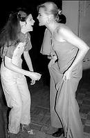 Gilda Radner Margeaux Hemingway 1977<br /> Photo By Adam Scull/PHOTOlink.net