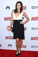 HOLLYWOOD, CA - JUNE 15: Mercedes Masohn arrives at the premiere screening of Showtime's 'Dexter' Season 8 at Milk Studios on June 15, 2013 in Hollywood, California. (Photo by Celebrity Monitor)