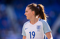Harrison, NJ - March 4, 2018: England tied Germany 2-2 at the second match of the SheBelieves Cup at RedBull Arena.