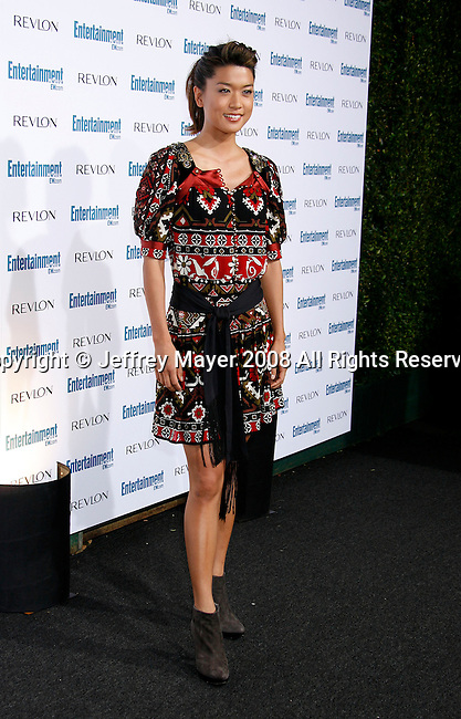 BEVERLY HILLS, CA. - September 20: Actress Grace Park arrives at Entertainment Weekly's 6th annual pre-Emmy celebration presented by Revlon at the Historic Beverly Hills Post Office on September 20, 2008 in Beverly Hills, California.
