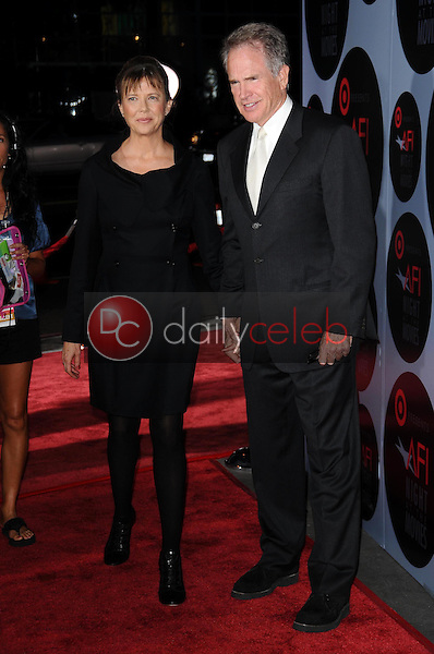 Annette Bening and Warren Beatty<br />