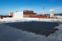 20kW SunPower T-5 Ballasted Solar System, Nelson Fine Art Center