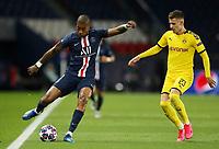 Paris St Germain's Presnel Kimpembe in action with Borussia Dortmund's Thorgan Hazard    <br /> Photo Pool/Panoramic/Insidefoto