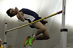 Corey Palazzolo from Christian Borthers Academy clears the high jump bar at 5' 6&quot; during the boys high jump event during the NJSIAA Winter Track &amp; Field Relay Championships held at Bennett Center in Toms River on Wednesday January 18, 2018.<br /> <br /> (Mark R. Sullivan | For NJ Advance Media)