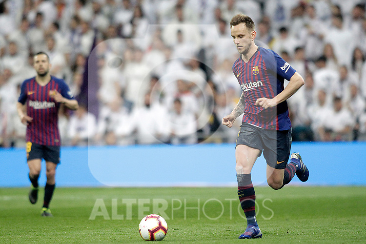 FC Barcelona's Ivan Rakitic during La Liga match. March 02,2019. (ALTERPHOTOS/Alconada)