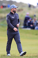 Andy Sullivan (ENG) on the 3rd fairway during Round 2 of the Betfred British Masters 2019 at Hillside Golf Club, Southport, Lancashire, England. 10/05/19<br /> <br /> Picture: Thos Caffrey / Golffile<br /> <br /> All photos usage must carry mandatory copyright credit (&copy; Golffile | Thos Caffrey)