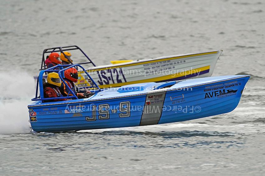 "Robert Presley, Jr., JS-9  and JS-721 ""Go'n Skiff'n Krazy""   (Jersey Speed Skiff(s)"
