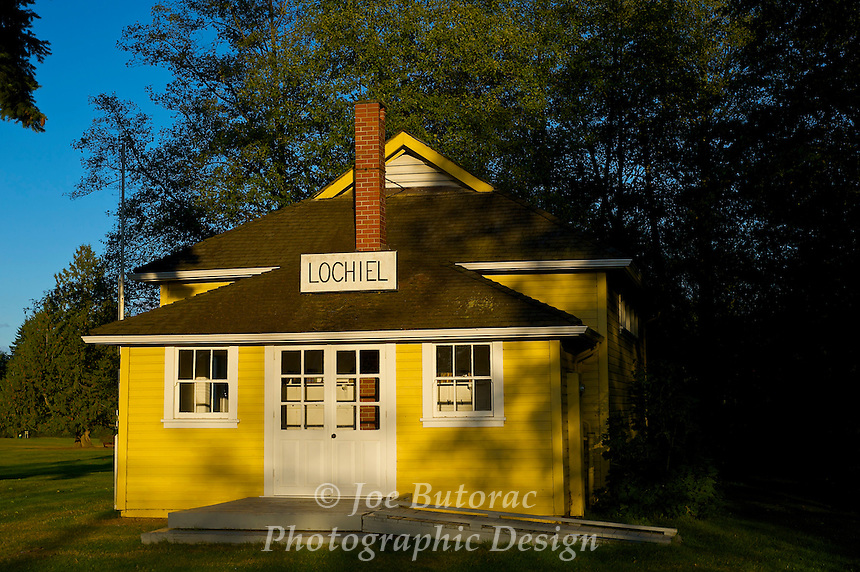 Lochiel Schoolhouse Built 1927 Campbell Valley Park, Langley B.C.