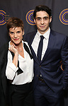 Jenn Colella and Bobby Conte Thornton attends The 69th Annual Outer Critics Circle Awards Dinner at Sardi's on May 23, 2019 in New York City.