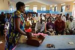 TANZANIA Mara, Tarime, village Masanga, region of the Kuria tribe who practise FGM Female Genital Mutilation, temporary rescue camp of the Diocese Musoma for girls which escaped from their villages to prevent FGM / TANSANIA Mara, Tarime, Dorf Masanga, in der Region lebt der Kuria Tribe, der FGM weibliche Genitalbeschneidung praktiziert, temporaerer Zufluchtsort fuer Maedchen, denen in ihrem Dorf Genitalverstuemmelung droht, in einer Schule der Dioezese Musoma, REGINA ANDREA MUKAMA genannt MAMA REGINA erklaert die Folgen der Genitalbeschneidung