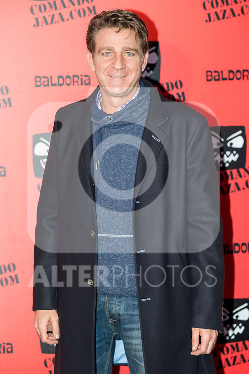 Juanjo Artero attends the presentation of the brand &quot;Comando Jaza&quot; in Madrid, December 14, 2015<br /> (ALTERPHOTOS/BorjaB.Hojas)