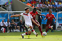 (L to R) <br /> Mats Hummels (GER), <br /> Eder (POR), <br /> JUNE 16, 2014 - Football /Soccer : <br /> 2014 FIFA World Cup Brazil <br /> Group Match -Group G- <br /> between  Germany 4-0 Portugal <br /> at Arena Fonte Nova, Salvador, Brazil. <br /> (Photo by YUTAKA/AFLO SPORT)