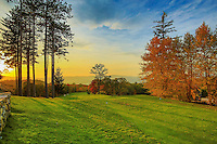 2015 Fall Foliage at Garrison Golf Course