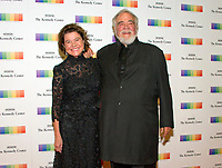 Herbert V. Kohler and his wife, Natalie Black, arrive for the formal Artist's Dinner honoring the recipients of the 40th Annual Kennedy Center Honors hosted by United States Secretary of State Rex Tillerson at the US Department of State in Washington, D.C. on Saturday, December 2, 2017. The 2017 honorees are: American dancer and choreographer Carmen de Lavallade; Cuban American singer-songwriter and actress Gloria Estefan; American hip hop artist and entertainment icon LL COOL J; American television writer and producer Norman Lear; and American musician and record producer Lionel Richie.. Photo Credit: Ron Sachs/CNP/AdMedia