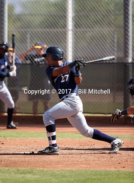 Pablo Abreu - 2017 AIL Brewers (Bill Mitchell)