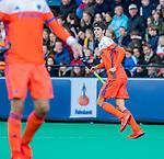 ROTTERDAM - Johannes Mooij (NED)   tijdens   de Pro League hockeywedstrijd heren, Nederland-Spanje (4-0) . COPYRIGHT KOEN SUYK