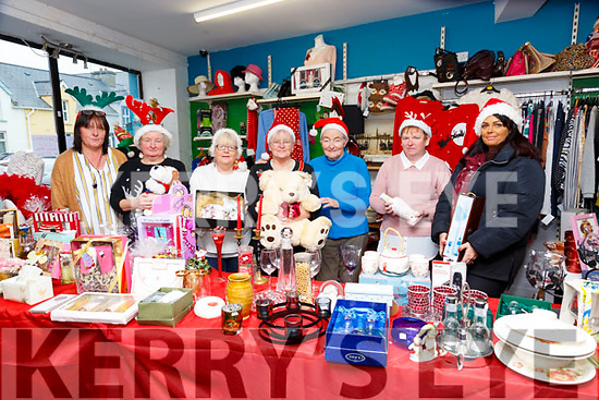 Pictued at the Irish Wheelchair Association Christmas Shop day at their premises in William St, Listowel on Thursday last were Anne O'Carroll, Evelyn Nolan, Mamie Srack, Angela Norgrove, Hilda O'Donnell, Helen Dickenson & Lorraine Gibney.