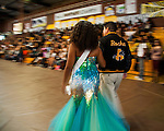 Homecoming rally in the Antioch High School gymnasium, in Antioch, California, on Friday afternoon, October 18, 2013.  Photo by Victoria Sheridan.