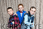 At the Fashion Show in aid of Aughacasla School on Friday at the Rose Hotel. Pictured Young Models Steven Donovan, Adam Crean, David Moore