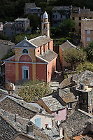 Europe/France/Corse/2B/Haute-Corse/Cap Corse/Nonza: Église Santa Ghjulia, Sainte-Julie