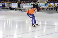 SCHAATSEN: HEERENVEEN: 11-12-2016, IJsstadion Thialf, ISU World Cup, Douwe de Vries, ©foto Martin de Jong