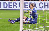 Frust bei Torwart Manuel Neuer (Deutschland Germany) nach dem 2:2 - 24.03.2019: Niederlande vs. Deutschland, EM-Qualifikation, Amsterdam Arena, DISCLAIMER: DFB regulations prohibit any use of photographs as image sequences and/or quasi-video.