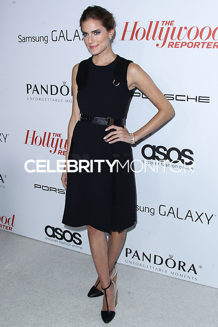 WEST HOLLYWOOD, CA - SEPTEMBER 19: Actress Allison Williams arrives at The Hollywood Reporter's 2013 Emmy Party held at Soho House on September 19, 2013 in West Hollywood, California. (Photo by Xavier Collin/Celebrity Monitor)
