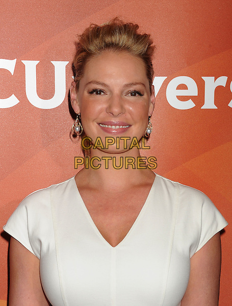 BEVERLY HILLS, CA- JULY 13: Actress Katherine Heigl attends the 2014 Television Critics Association Summer Press Tour - NBCUniversal - Day 1 held at the Beverly Hilton Hotel on July 13, 2014 in Beverly Hills, California.<br /> CAP/ROT/TM<br /> &copy;Tony Michaels/Roth Stock/Capital Pictures