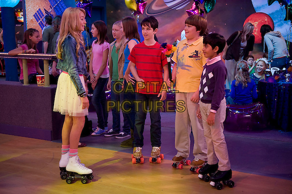 Peyton List, Zachary Gordon, Robert Capron & Karan Brar .in Diary of a Wimpy Kid: Rodrick Rules .*Filmstill - Editorial Use Only*.CAP/PLF.Supplied by Capital Pictures.