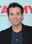 Nathan Kress at The Warner Bros. Pictures' L.A. Premiere of Tammy held at The TCL Chinese Theatre in Hollywood, California on June 30,2014                                                                               © 2014 Hollywood Press Agency