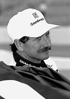 Dale Earnhardt, Darlington, September 1994. (Photo by Brian Cleary) Dale Earnhardt, SOuthern 500, Darlington Raceway, Darlington SC, September 1994.  (Photo by Brian Cleary/www.bcpix.com)