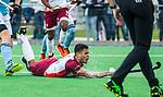 ALMERE - Hockey - Hoofdklasse competitie heren. ALMERE-HGC (0-1) . Daniel de Haan (Almere)  COPYRIGHT KOEN SUYK