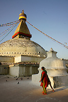 Nepal - Boudha - a buddhist sanctuary