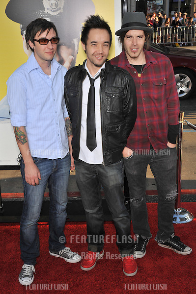 "Hoobastank at the Los Angeles premiere of ""Observe and Report"" at the Grauman's Chinese Theatre, Hollywood..April 6, 2009  Los Angeles, CA.Picture: Paul Smith / Featureflash"