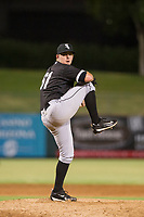AZL White Sox relief pitcher Kevin George (61) delivers a pitch to the plate against the AZL Angels on August 14, 2017 at Diablo Stadium in Tempe, Arizona. AZL Angels defeated the AZL White Sox 3-2. (Zachary Lucy/Four Seam Images)