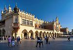 Kraków 2019-09-11.Sukiennice na Rynku Głównym w Krakowie, Polska<br /> Main Market Square in Cracow, Poland