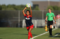 Piscataway, NJ - Saturday July 23, 2016: Caprice Dydasco during a regular season National Women's Soccer League (NWSL) match between Sky Blue FC and the Washington Spirit at Yurcak Field.