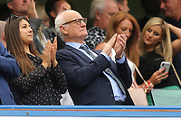 Chelsea FC Chairman, Bruce Buck applauds the teams onto the pitch during Chelsea vs Sheffield United, Premier League Football at Stamford Bridge on 31st August 2019