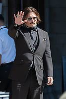 London, UK - 22 July 2020<br /> Johnny Depp attends libel trial against the Sun at The Royal Courts of Justice.<br /> CAP/JOR<br /> ©JOR/Capital Pictures