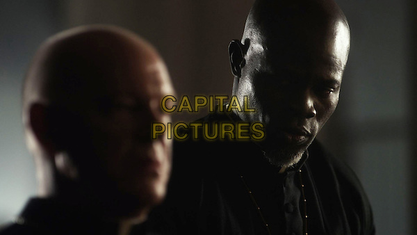 The Vatican Tapes (2015) <br /> Peter Andersson, Djimon Hounsou<br /> *Filmstill - Editorial Use Only*<br /> CAP/KFS<br /> Image supplied by Capital Pictures