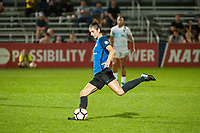 Kansas City, MO - Thursday August 10, 2017: Yael Averbuch during a regular season National Women's Soccer League (NWSL) match between FC Kansas City and the North Carolina Courage at Children's Mercy Victory Field.